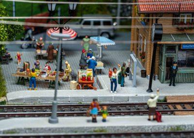 """Plastico ferroviario """"San Gottardo"""""""